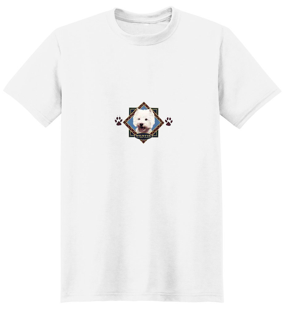 West Highland Terrier T-Shirt - Diamond Collection