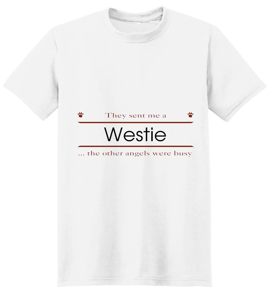 West Highland Terrier T-Shirt - Other Angels
