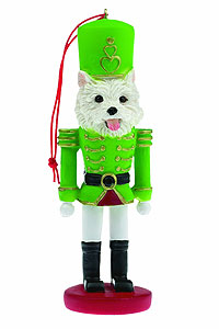 Westie Ornament Nutcracker