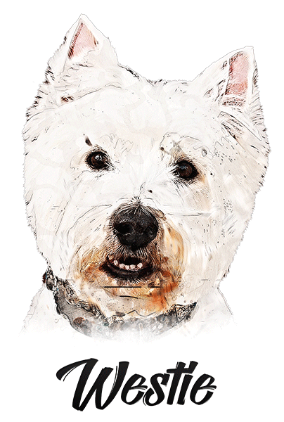 Westie T-Shirt - Vivid Colors