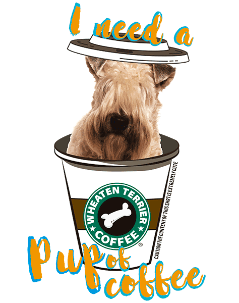 Wheaten Terrier T Shirt - Coffee Mug