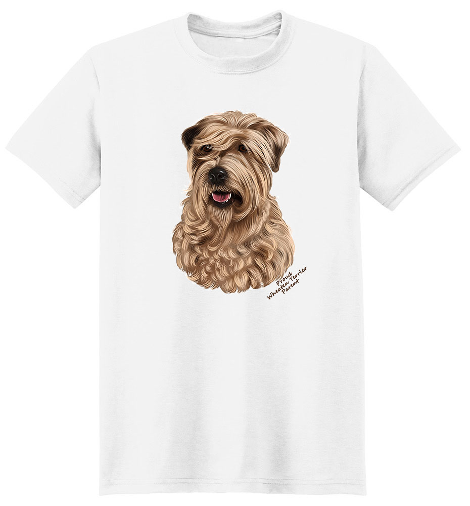 Wheaten Terrier T Shirt - Proud Parent