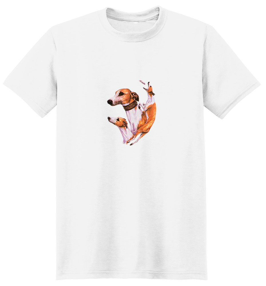 Whippet T-Shirt - Best Friends