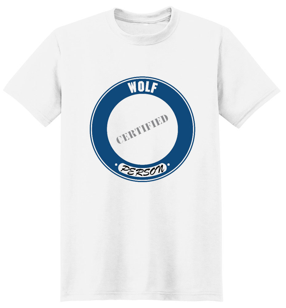 Wolf T-Shirt - Certified Person