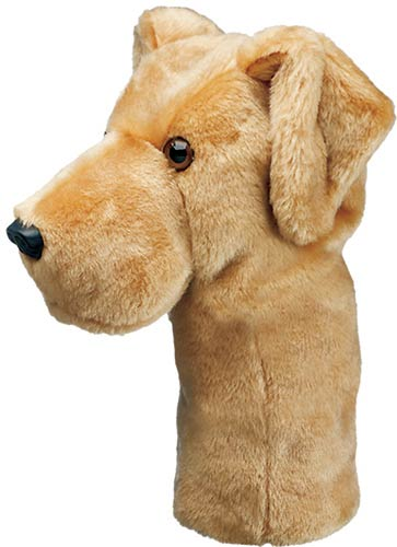 Yellow Lab Golf Headcover
