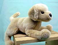Yellow Lab Plush