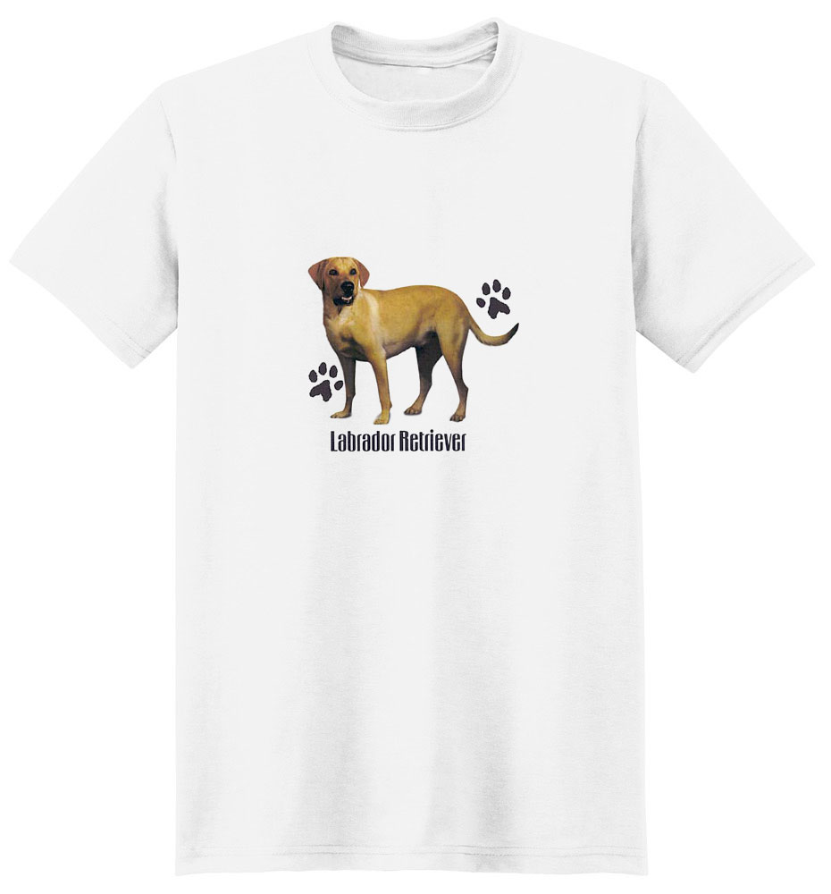 Yellow Lab T-Shirt - Stylin With Paws