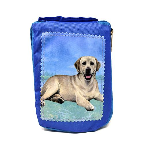 Yellow Labrador Retriever Tote Bag - Foldable to Pouch