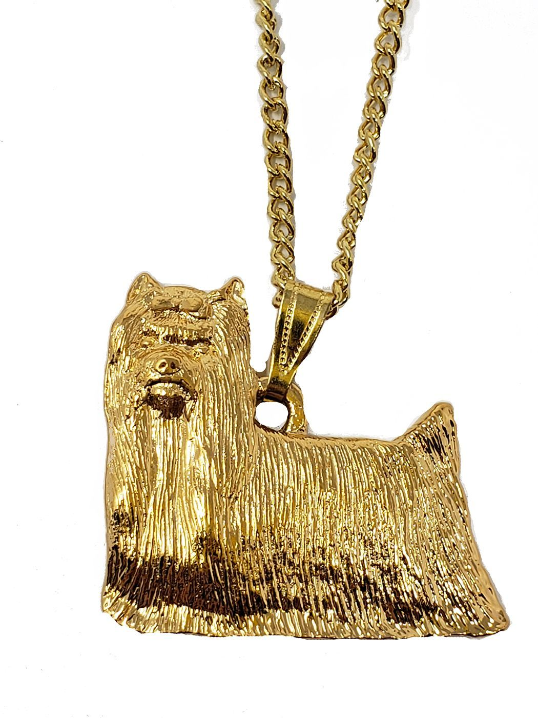 Yorki 24K Gold Plated Pendant