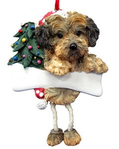 Yorkipoo Christmas Tree Ornament - Personalize