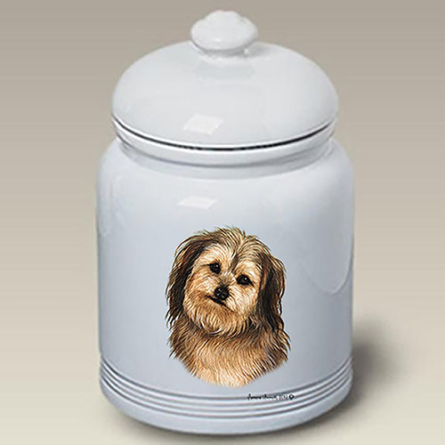 Yorkipoo Treat Jar