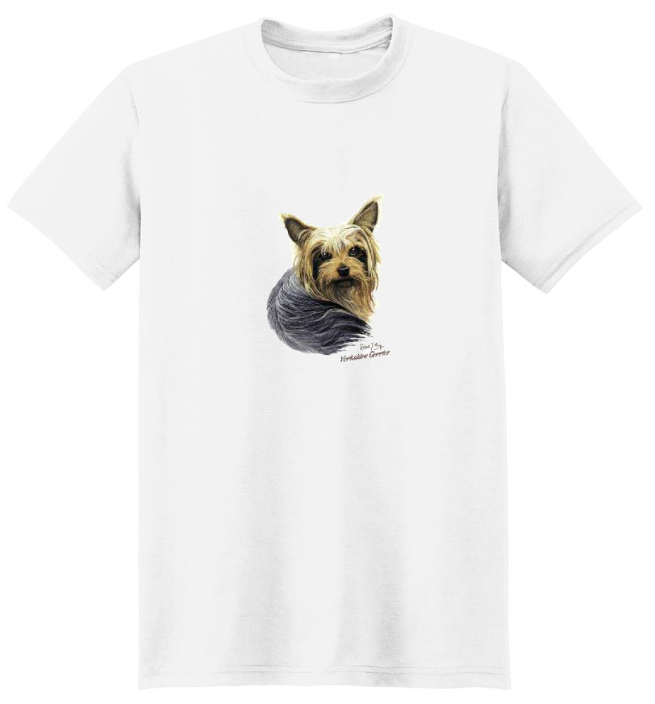 Yorkshire Terrier T Shirt Robert May Collection