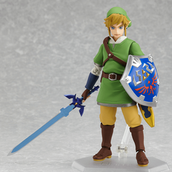 Legend Of Zelda : Skyward Sword <br> Link Figma Action Figure