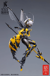 Original Character <br> Bee-03W Wasp Girl <br> 1/12 Scale Action Figure <br> (AUG 25, 2021)