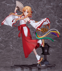 Sword Art Online Alicization <br> War of Underworld Asuna Miko <br> 1/7 Scale PVC Figure <br> (JAN 27, 2021)