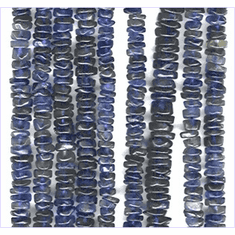 Iolite disc 3 mm to 6 mm
