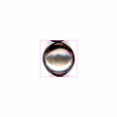 Pearl Grey Button  7 mm