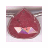 Ruby Heart Briolette 5x5 to 9x9 mm