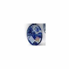 Sodalite Facetted Oval Facetted 12x16