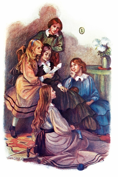 A beautiful illustrated facsimile of 'Little Women,' just in time for Greta Gerwig's December film adaptation