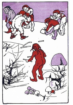 Featured image is reproduced from 'A Book of Elfin Rhymes.'