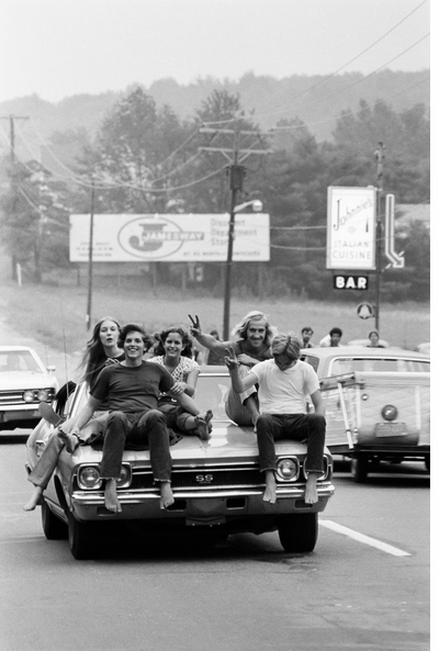 A cosmic traffic jam in 'Woodstock: 3 Days of Peace & Music'