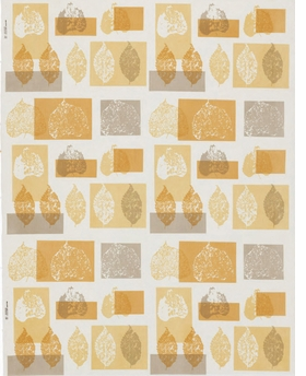 Featured image is reproduced from 'A Designed Life: Contemporary American Textiles, Wallpapers and Containers & Packaging, 1951–54.'