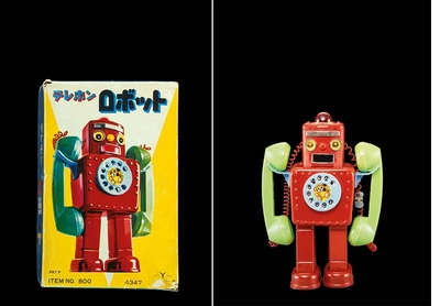 A smile is the only possible outcome to 'Robots 1:1'