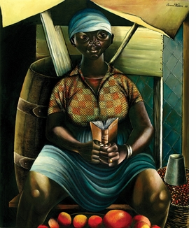 Featured image is reproduced from 'A to Z of Caribbean Art.'