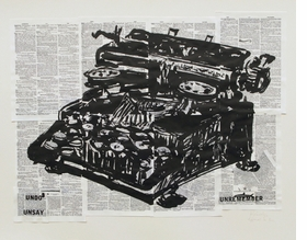Featured image is reeproduced from <I>A Universal Archive: William Kentridge as Printmaker</I>.