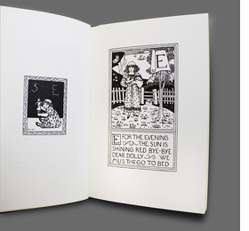 Featured spread is reproduced from 'ABC: An Alphabet.'