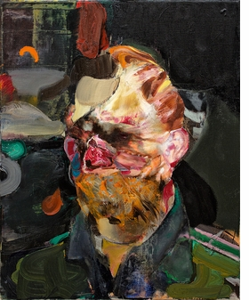 """""""Self-Potrait as Vincent van Gogh 2"""" (2014) is reproduced from 'Adrian Ghenie: Paintings 2014-2019.'"""