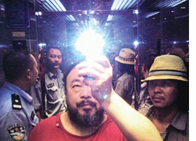 Featured image is reproduced from <I>Ai Weiwei: On the Table</I>.