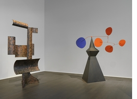 Featured image is reproduced from 'Alexander Calder / David Smith.'