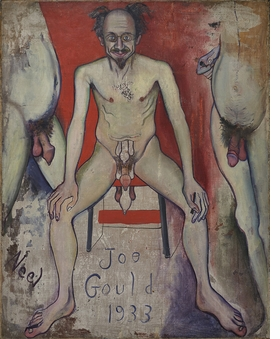 Joe Gould (1933) is reproduced from 'Alice Neel: Freedom.'