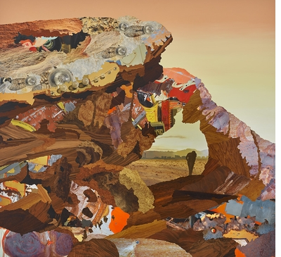 Alison Elizabeth Taylor creates estrangement between images and their vehicle in 'Landscape Painting Now'