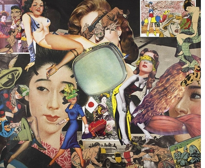 'Alternate worlds that surpass the imagination' in Keiichi Tanaami's early Pop collages
