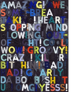 Featured image is reproduced from 'Amazing! Mel Bochner Prints.'