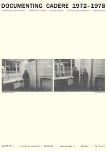 André Cadere: Documenting Cadere, 1972-1978