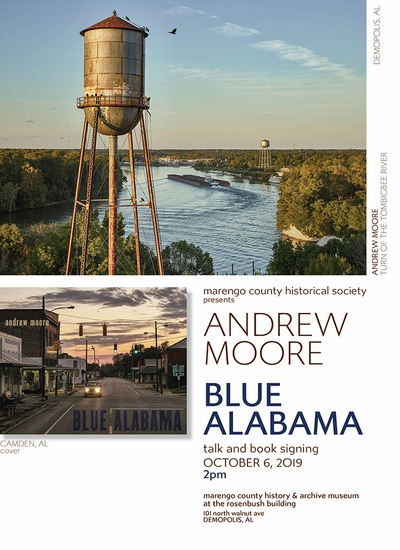 Andrew Moore on 'Blue Alabama' at Marengo County History & Archive Museum, Alabama