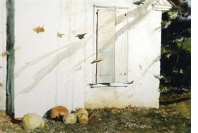 """Featured image, """"Home Grown"""" (1974) © Andrew Wyeth, is reproduced from <I>Andrew Wyeth: Looking Out, Looking In</I>."""