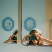 Anne Collier: Women with Cameras (Self Portrait)
