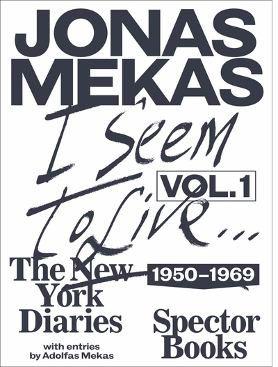 Anthology Film Archives launch event for Jonas Mekas's 'I Seem to Live' NY Diaries