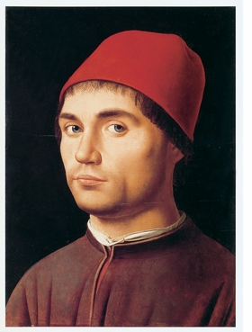 """Portrait of a Man"" (1473–74) is reproduced from 'Antonello da Messina: Inside Painting.'"