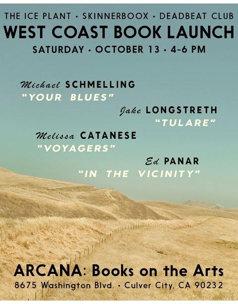 Arcana presents new books from The Ice Plant and Deadbeat Club