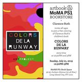 MoMA PS1 Book Space presents an interactive afternoon with 'Colors De La Runway' author Clarence Ruth