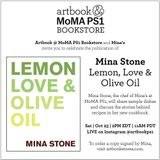 Artbook @ MoMA PS1 Bookstore presents Mina Stone discussing and signing her new cookbook
