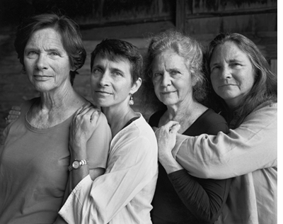 Back in Stock: Nicholas Nixon: The Brown Sisters. Forty Years.