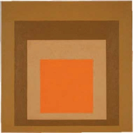 """Featured image, of Josef Albers' """"Homage to the Square: On Dry Ground"""" (1963), is reproduced from <I>Behold, America!</I>."""