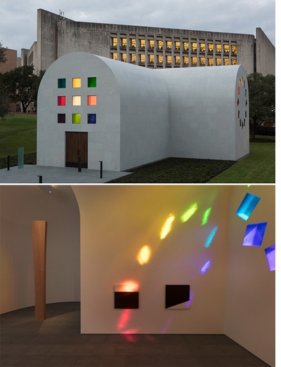 Behold Ellsworth Kelly's final masterpiece, 'Austin'